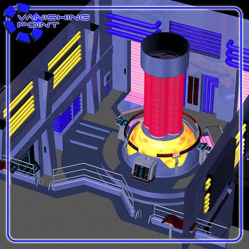 starship engineering room for poser 3d model obj pz3 pp2 1