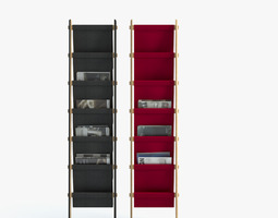 Plisado Storage Rack 3D model