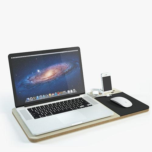 slate mobile airdesk 3d model max 1