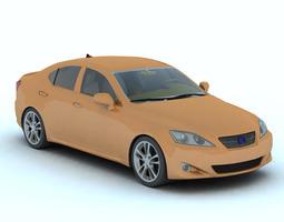 Luxury Sedan Car 2 for Vue 3D