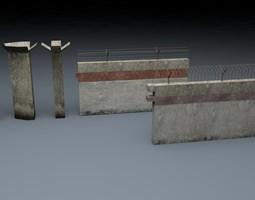 Berlin Wall 1st gen Element 3D model