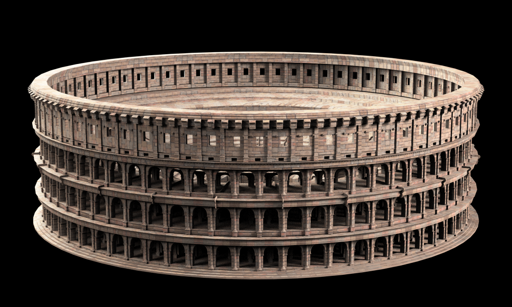 Roman colosseum 3d model cgtrader roman colosseum 3d model max obj fbx 4 publicscrutiny Images