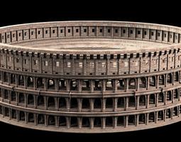 Roman Colosseum 3D model