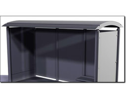 Bus Shelter Studio Max 3D model