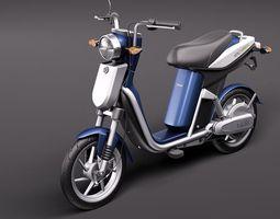 Yamaha EC-03 Electric Scooter 3D Model 3D Model