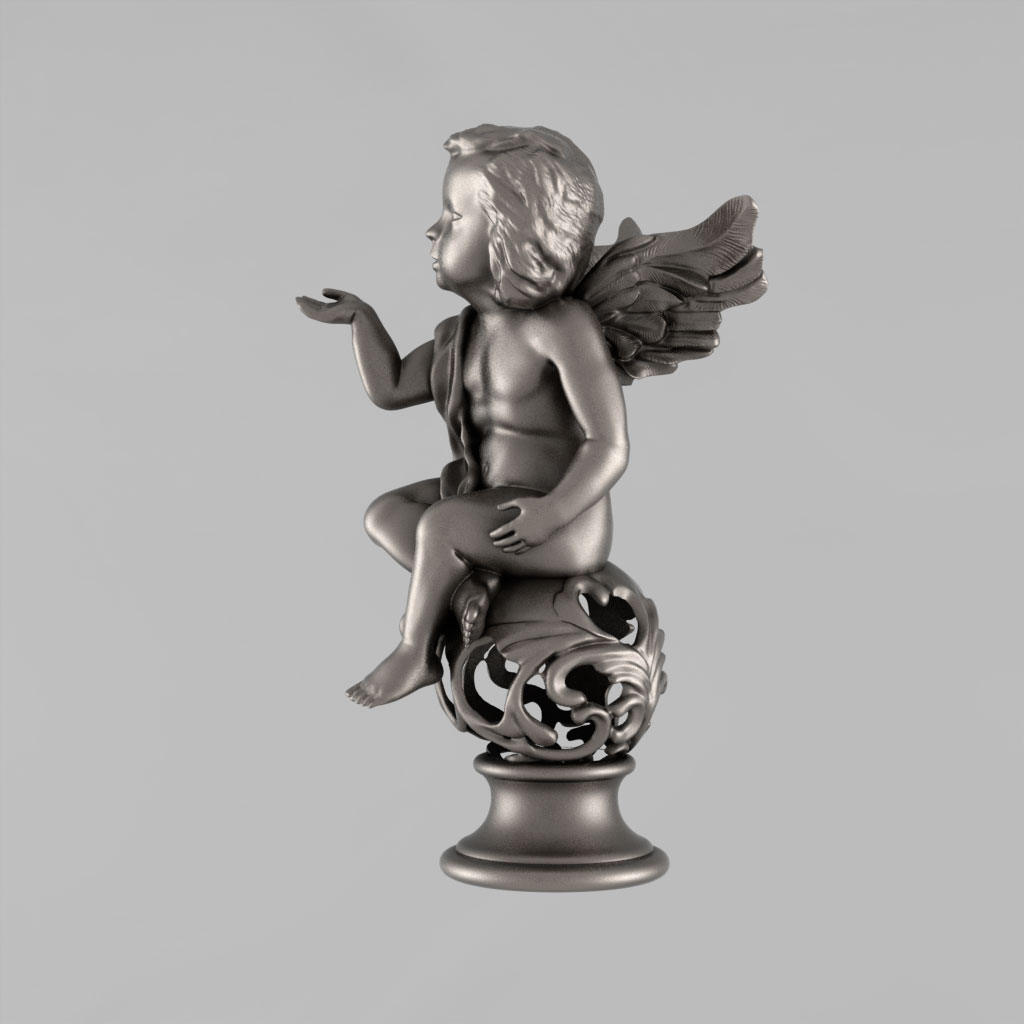 Angel 3D Model 3D Printable STL