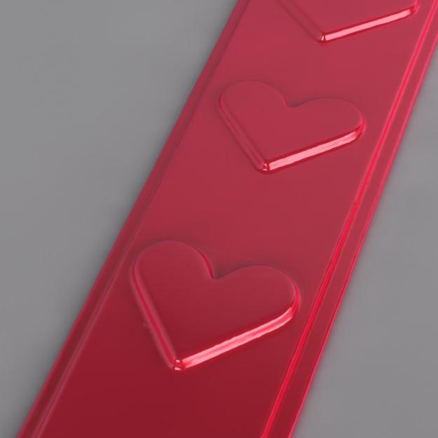 Heart Bookmark free 3D Model 3D printable OBJ STL ...