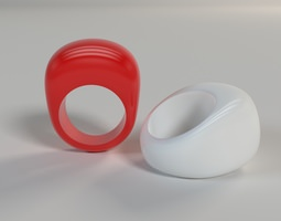 3D print model Ring