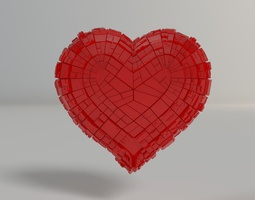 Greeble Heart 3D printable model