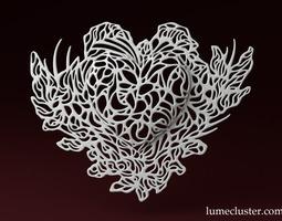 Unearth Heart 3D Model