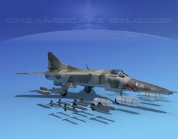 MIG-27 Flogger V02 USSR 3D model