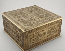 3d printable model jewelry box