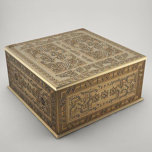 jewelry box 3d model stl 1