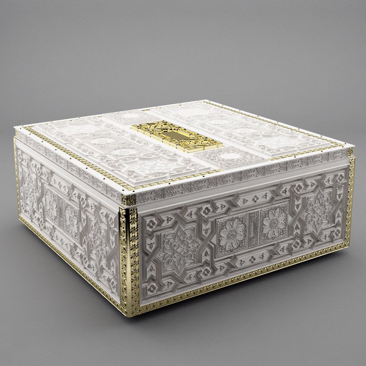 Jewelry Box 3D Model 3D Printable STL