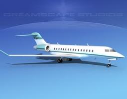 Global Express 8000 V04 3D model