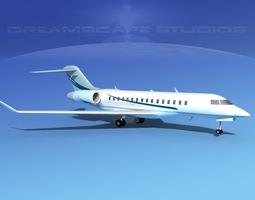 3D model Global Express 8000 V06