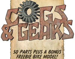 3D model Cogs N Gears for Poser