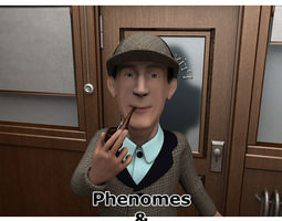 3D model Detective Holms Phenomes for Poser