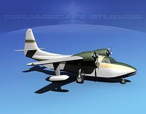 3D Grumman G-73 Mallard V06