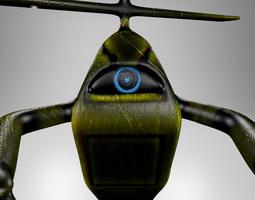 3d model robot sci fi