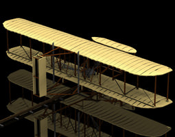 Kitty Hawk Poser Vue 3D