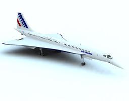 3D model Concorde SST Poser Vue