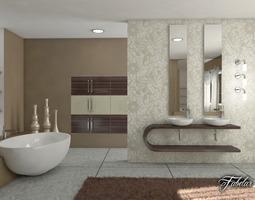 Bathroom 3D model luxury-interior