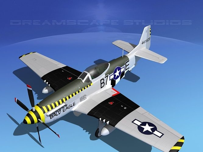 P-51D Mustang Bald Eagle