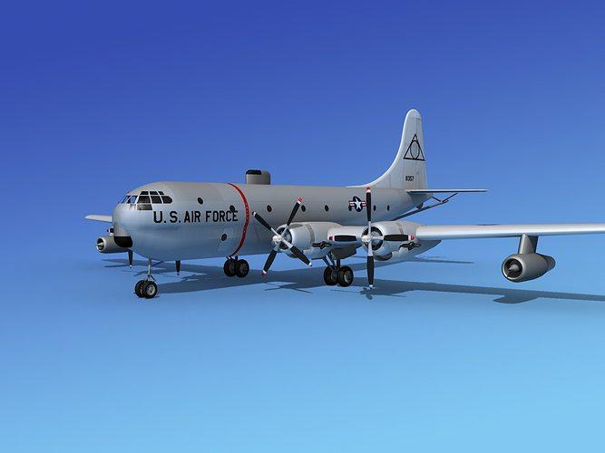 Boeing KC-97 Stratotanker USAF 2