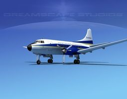 3D Martin 404 Southern Airways 1