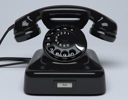 3D Classic Telephone W48