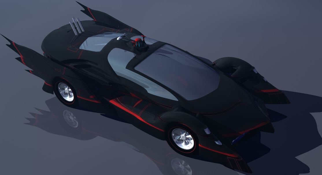 Batmobile Prototype 2014