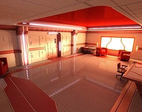 3D Sci Fi Apartment Scene