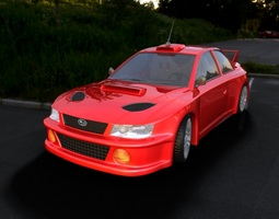 car subaru car car for 3d gaming