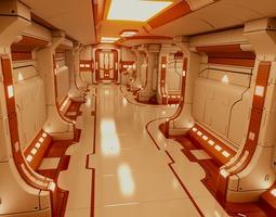 3D model Polyguardian Cruiser Corridor