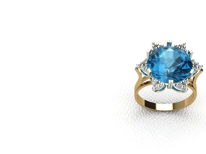 ring stl 3d model stl 1