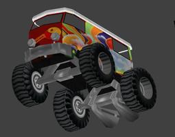 3D model furgoHippie