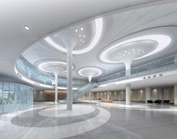 office hall 3D