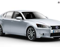Lexus GS 450H 2013 3D model