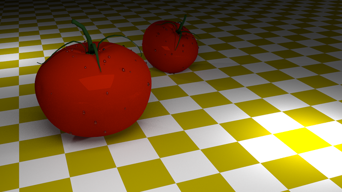 tomatoes 3d model low-poly 3ds blend 1