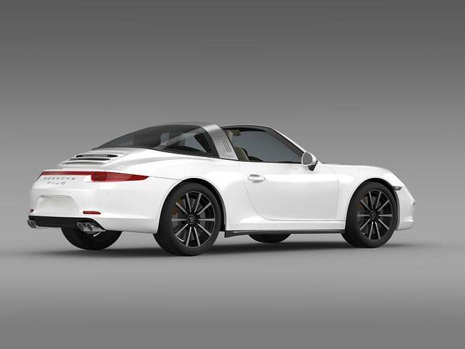 Porsche 911 2014 White