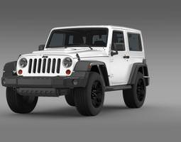 3d jeep wrangler moab 2012
