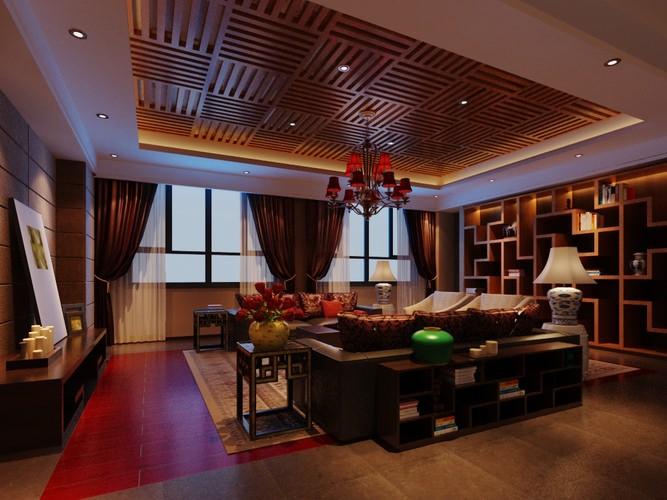 Modern design living room 3d model max for Living room designs 3d model