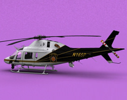 3D AW-119 PA State Police