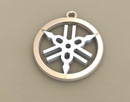 Yamaha Badge 3D print model