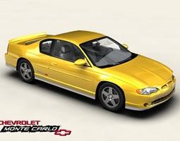 3D Chevrolet Monte Carlo 2004