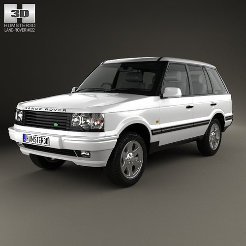 3D Model Land Rover Range Rover 1998