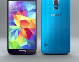 Samsung Galaxy S5 Smartphone 3D