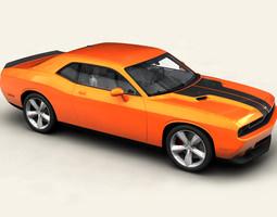 3D Dodge Challenger 2009