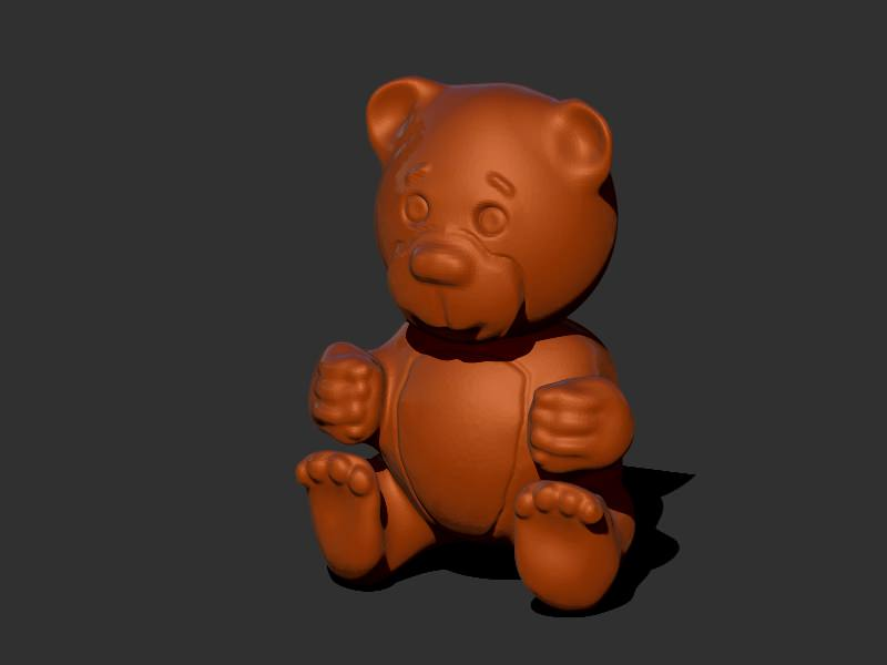 3D print model Teddy Bear   CGTrader